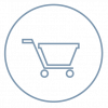 Shopping Cart Icon- Free shipping is included for Tikva products