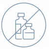 No Harsh Chemicals Icon- Tikva products don't contain harsh chemicals