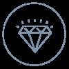 Diamond Icon- Tikva products are premium