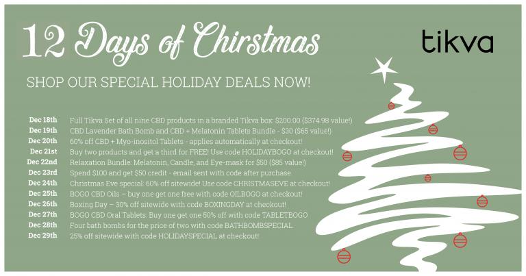 12 days of Christmas deals