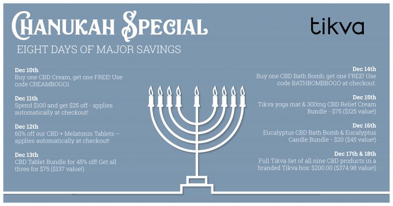 8 days of Chanukah deals
